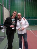 Arnaud et Jo - Vainqueurs du tournoi Double Hommes