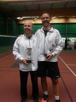 Franck et Sébastien - Finalistes du tournoi Double Hommes